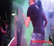 Big ass latina pole dance
