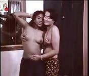 Hot amateur lesbian couple