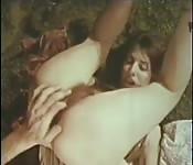 Pornô vintage no camping
