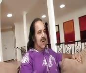 Ron Jeremy y su hijastra