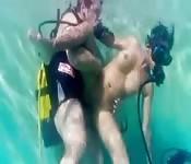Plongée sous-marine et pompage