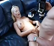 Blonde Amateur Boobs POV