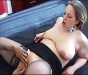 Zorra británica follando con pollón negro