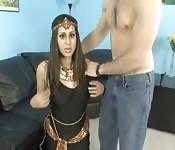 Árabe fazendo porno