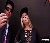 Deutsche Coco Kiss und Lena Nitro fingern sich