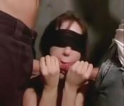 Abusing a hot girl