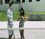 Tennis class and sex for Missy Martinez