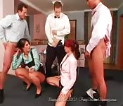 Crazy Office Orgy