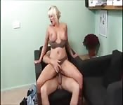 Hot British Milf Sucks And Fucks In Her Office