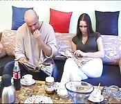 Amateur couple danois baise