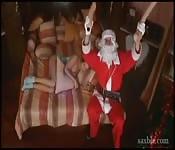 Babbo Natale si scopa Cathy Heaven