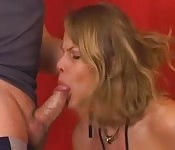 Blonde erotic sex