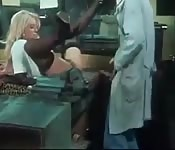 German blonde lady gets fucked by an engineer.