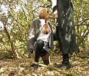Chupando no bosque de incognito