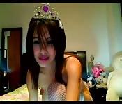 Vollbusige Amateur Prinzessin