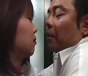 Amateur Asian couple