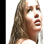 Masturbieren zu Jennifer Lawrence