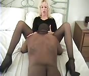 Interracial amateur swingers