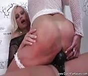 Hot blonde lesbians fucking