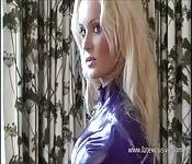 Softcore model Alessandras latex