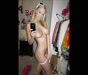 Girls' selfies