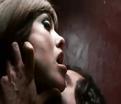 Rough BDSM sex session