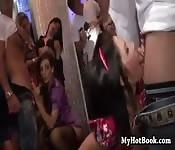 Orgia na discoteca