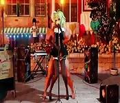 Sexo anime sobre el escenario