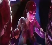 Zorra animada 3D recibe de todo