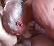 Mature milf has pussy licked