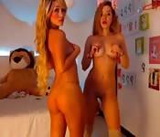Lesbianas preciosas