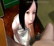 3d hentai blowjob