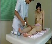 Massagem japonesa com orgasmos