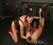 Mistress Jasmine and Sub Tony
