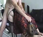 Sexo en la oficina grabado en webcam