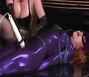 Batgirl tied up porn orgasmos sexy