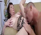 Granny wants a cock in her pussy and she gets it