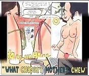 Une présentation d'un comic de sex
