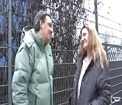 Amateurin in ihren Vierzigern Eva V gefickt