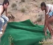 Safari africain se transforme en orgie