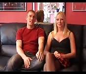 Amateur Euro-couple