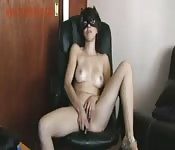 Sexmex Teens apresenta uma garota se masturbando