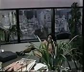 Big boobs office masturbation