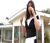 Hot Latina maid
