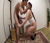 Horny Asian couple