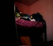 Dark room amateur couple