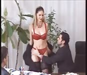 Sekretärin beim Ficken im Büro