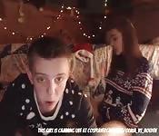 Christmas eve fuck