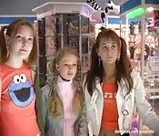 Tres chicas adolescentes
