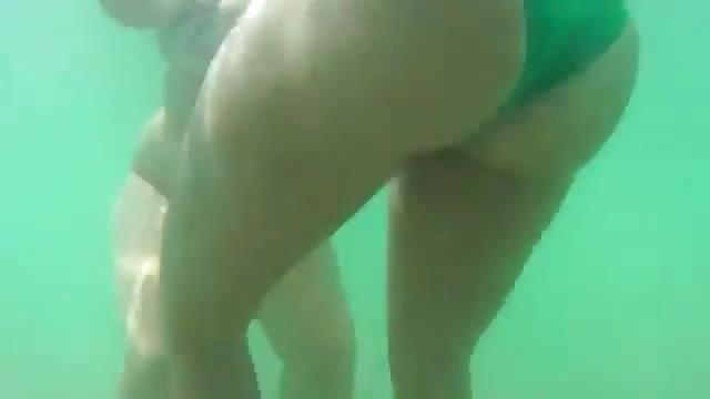 Unterwasser Voyeur